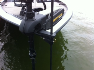 Shallow Water Anchor Pin Trolling Motor Mounted